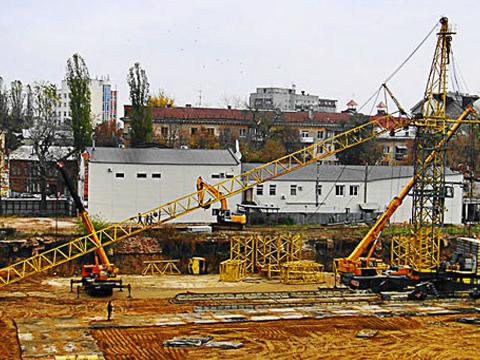 Монтаж башенного крана в Миассе