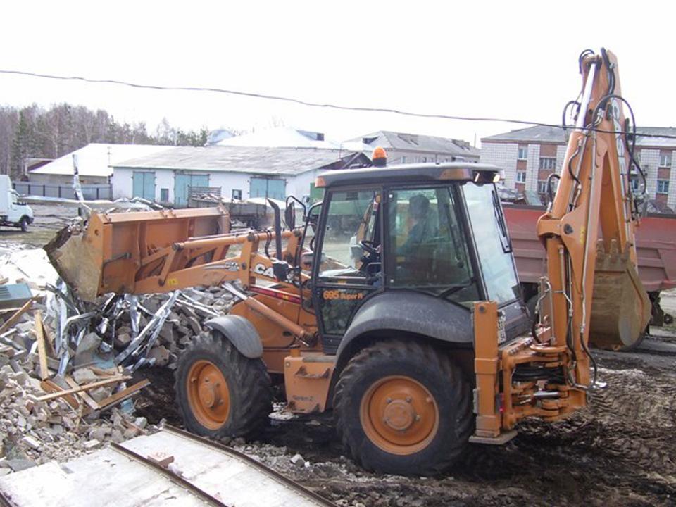 Услуги по уборке и вывозу строительного мусора